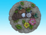 Polyresin Wall Plaque for Garden Decoration (SZ0017)
