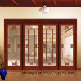 high Quality Natural Wooden Finished Wooden Door