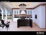 Modern White Glazed Kitchen Furniture
