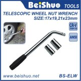 Anti-Slip Handle Extendable Wheel Brace Telescopic Nut Wrench