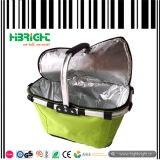 Folding Polyester Picnic Shopping Basket