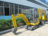 Ct18-7b Crawler Mini Excavator with Cabin