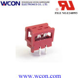 1.27 Micro Match 4p PBT Male Terminal Head Red