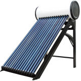 24 Evacuated Tube Pressure Solar Water Heater