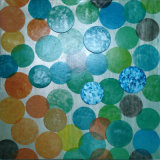 Canvas Background with Mosaic Decorative Wall Picture (LH-164000)