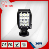4inch 36W Four Row LED Work Light Bar, Flood Driving Lights Offroad Fog 4WD Boat