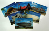 Custom Printing World Expo 3D Effect Lenticular Pavilion Visiting Cards