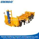 Container Transport Skeleton Type Rear Dump Truck Trailers
