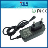 Micro USB 5V 2A Wall Charger for Cell Phone/LED