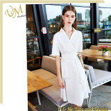 Fashion White Office Dress China OEM Manufacture
