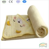 Hot Sale Full Cotton Baby Blanket with Hoodie