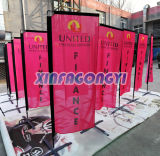 Custom Vertical Stand Flags, Square Stand Flags