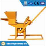 Qmr2-40 Manual Clay Interlocking Brick Machine Small Equipment