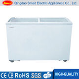 China Glass Door Refrigerated Display Fridge for Meat, Pizza, Cake