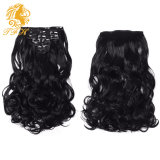 7A Grade Body Wave Clip in Hair Extensions Virgin Brazilian Human Hair 7PCS/Set 16inch to 22inch in Stock Natural Black Color