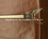 Afanti Music / Acrylic Flying Velectric Guitar (AAG-052)