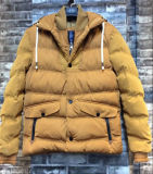 Yellow Stripte Padded Jacket Fashion Outdoor Clothing with High Quality