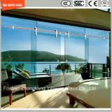 4-19mm Safety Clear and Pattern Flat/Bent Tempered/Toughened Glass for Shower Screen/Bathroom/Door/Partition with SGCC/Ce&CCC&ISO Certificate