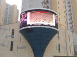 P10 DIP346 Outdoor Full Color Advertising LED Curve Screen