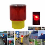 Waterproof Solar Powered Construction Pier Jetty Quay Safety Flashing Strobe Beacon Light
