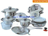 22piece Stainless Steel Cookware Set with Induction (SC730)