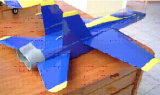 RC R/C Radio Control ARF Balsa Wood Model Airplane F18 Battleplane