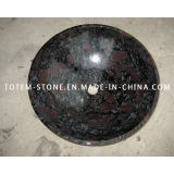 Wholesale Black Granite Stone Wash Basin for Bathroom, Kitchen