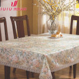 Embossed Shiny PVC Tablecloth