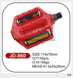 High Standard Red Alloy Bicycle Pedal Jd-060