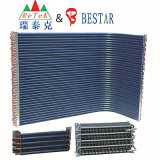 Aluminium Fin Copper Tube Air Conditioner Condenser Coil