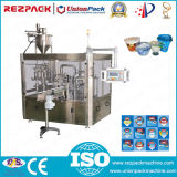 Rotary Plastic Triple Cup Filling and Sealing Machine (RZ-3R)