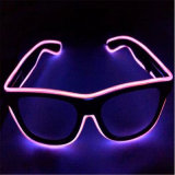 Sound Sensitive LED EL Wire Sunglasses