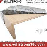Bespoke Shaped Metal Honeycomb Panel