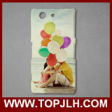3D Plastic Sublimation Mobile Phone Case for Sony Xperia Z4 Mini