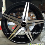 20*8.5inch Black Machine Face Wheel Car Wheel Alloy Wheel
