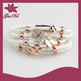 Factory Direct High-Quality Women′s Leather Bracelet (2015 Gus-Stlb-050)