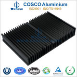 Black Anodized Aluminium Heatsink with CNC Machining
