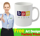 Promotional Ceramic Mug with Customer Logo Design