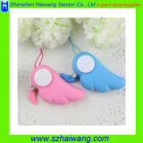 100dB Angle Wings Shaped Self Defense Alarm for Ladies