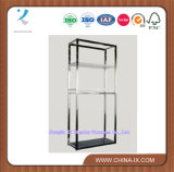 Metal (Stainless Steel) and Acrylic Display Stand/Rack