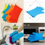 Hot Selling Non-Toxic Kitchenware Silicone Oven Mitts with Five Fingers