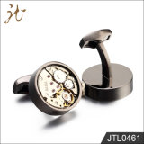 Punk Gear Movement Watch Cufflinks for Man