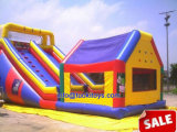 Yard Game Inflatable House with Blow up Slide (A593)