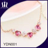 Hot Sale Elegant 925 Sterling Silver Rose Gold Pendant