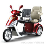 3 Wheel Double Seat Electric Power Scooter with 500W
