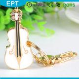 Jewelry Violin Shape USB Flash Drive for Girl (ED014)