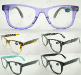 Reading Glasses with Double Colour Fashionable Eyewear for Unisex (WRP504207)