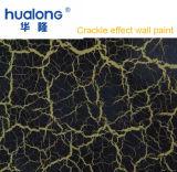 Hualong Black Artistic Crackle Decoration Paint