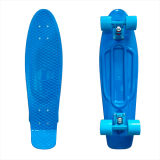 27inch PP Mini Skateboard Cruiser Complete Skateboards Banana Skateboard Blue Design-36