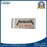 Stainless Steel Money Clip with Custom Printed Logo